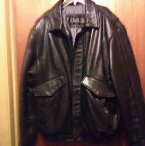 Mens Collezion leather jacket